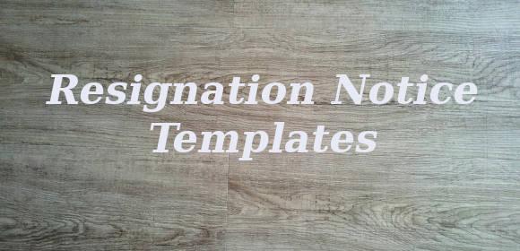 resignationnotice