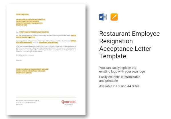 restaurant-employee-resignation-acceptance-letter-template