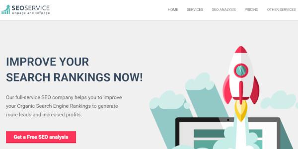 seo service woocommerce integrated wordpress theme