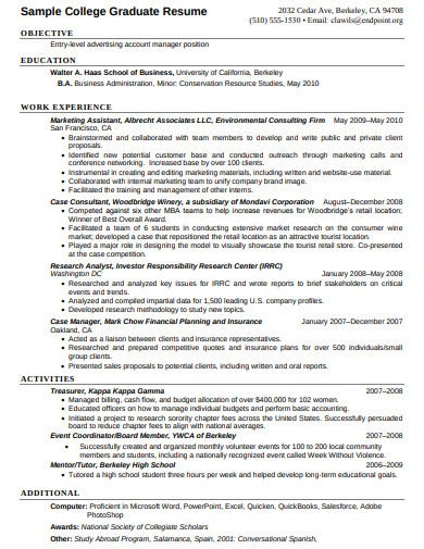 sample-college-graduate-resume-template