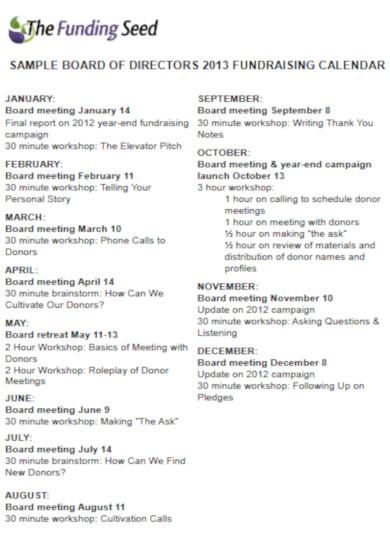 sample fundraising calendar2