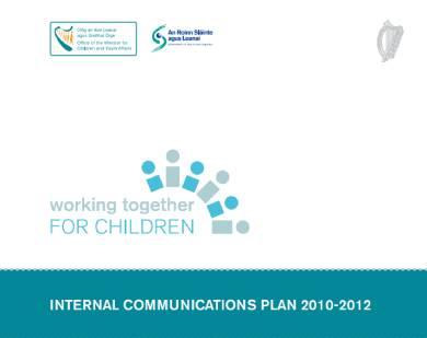 sample internal communications plan