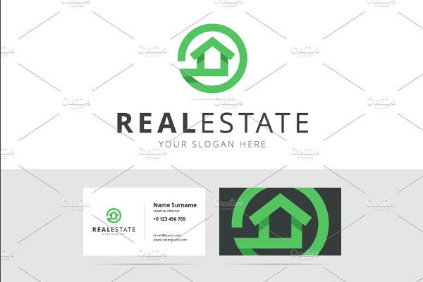 sample real estate logo template1