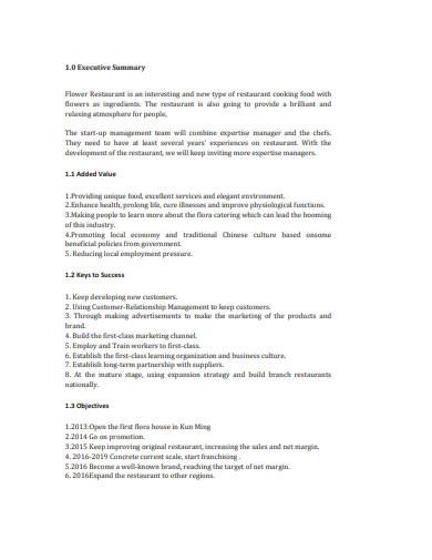sample-restaurant-sales-plan