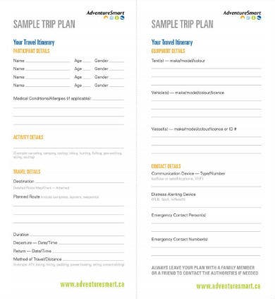 10+ Travel Planner Templates - Google Docs, MS Word, Pages ...