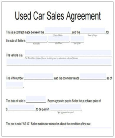 vehicle agreement templates google docs ms word pages. Black Bedroom Furniture Sets. Home Design Ideas