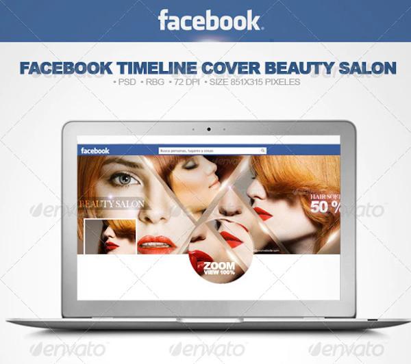 simple beauty salon in vector eps