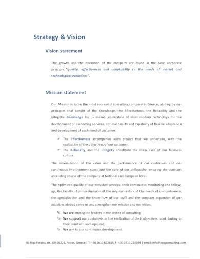 simple consulting company profile in pdf