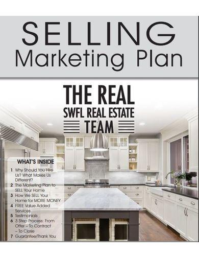 simple real estate marketing plan