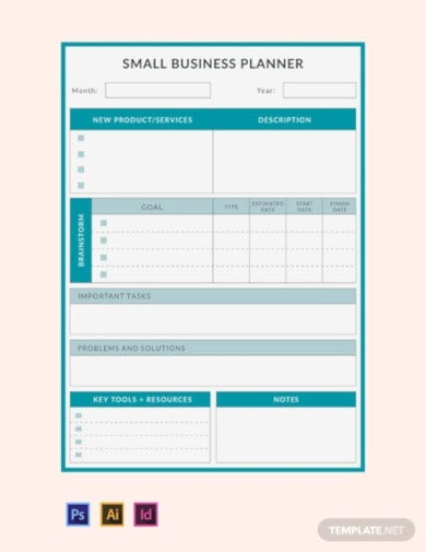 small business planner template2