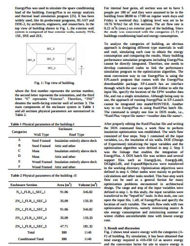 standard building estimate template