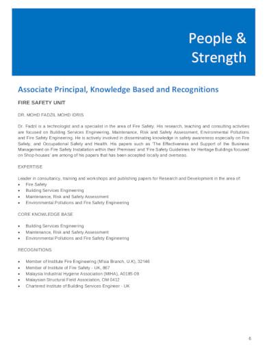 standard consulting company profile in pdf