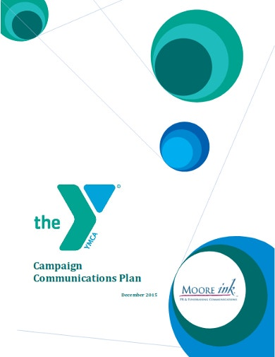 standard fundraising campaign communications plan
