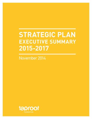 taproot strategic plan 01