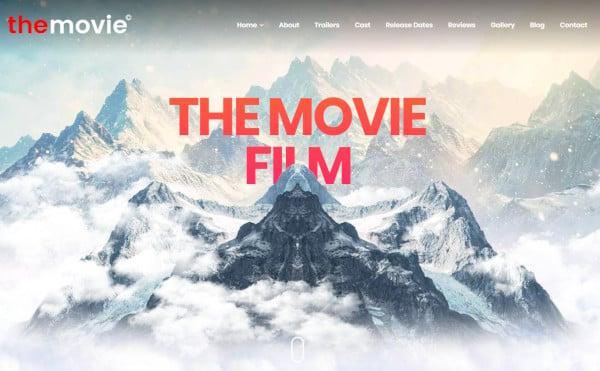 the movie visual composer wordpress theme