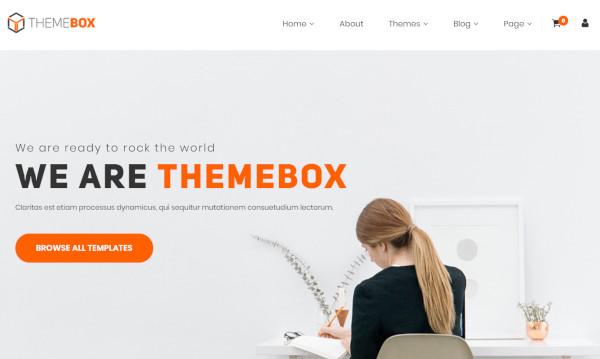 themebox woocommerce integrated wordpress theme