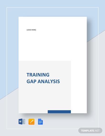 training gap analysis