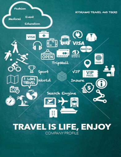 travel agency business plan layout