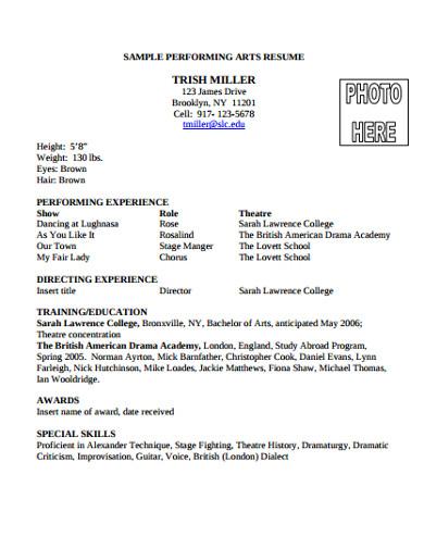 univeresity college application resume