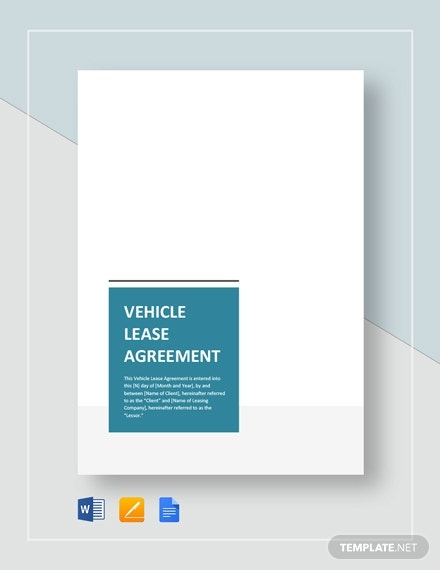 vehicle lease agreement 2