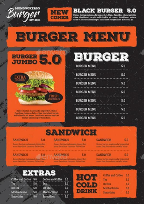 burgermenutemplate