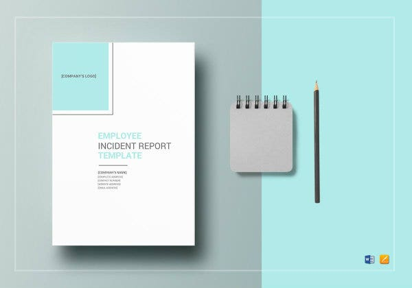 employee incident report template mockup1