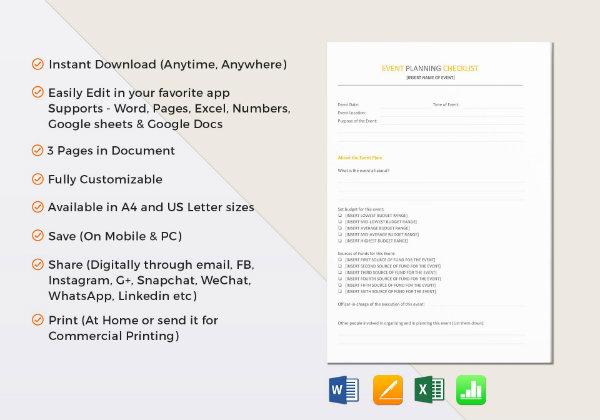 event planning checklist template1