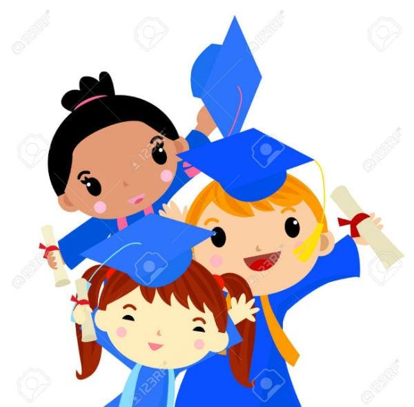 graduation kids