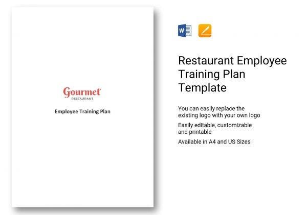 923 restaurant employee training plan template 01 e1564414236624