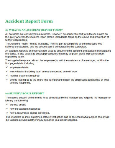 accident report form example