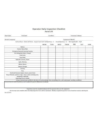 11 daily checklist templates pdf google docs word. Black Bedroom Furniture Sets. Home Design Ideas