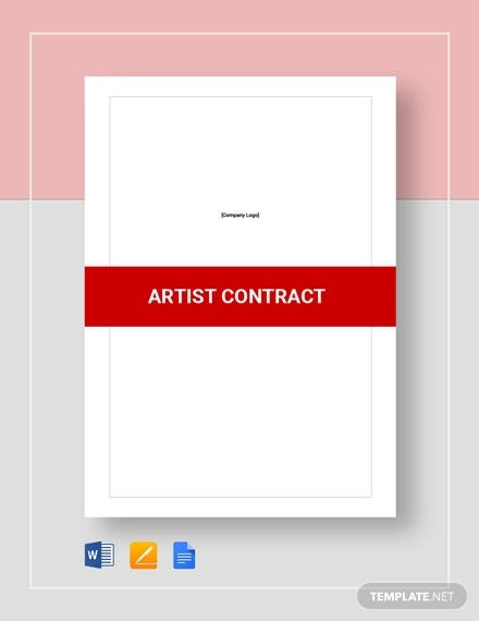 artist contract 4