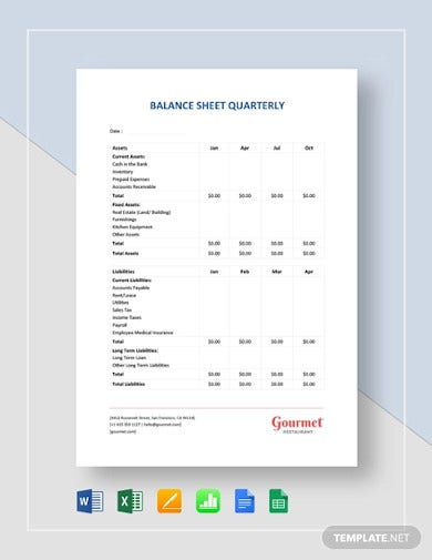 balance sheet quarterly template1