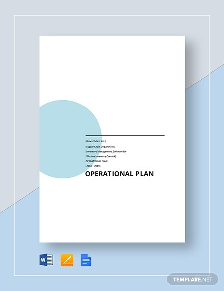basic operational plan