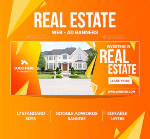 basic real estate adbanner template