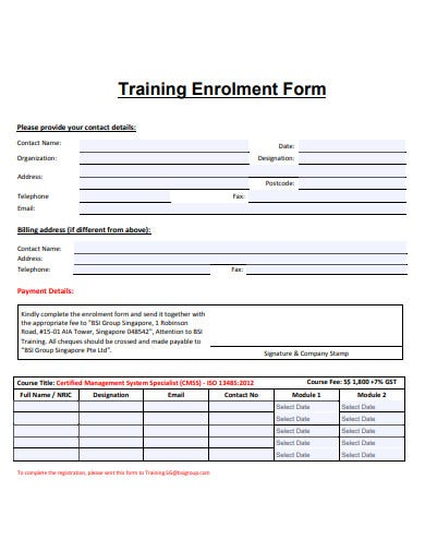 basic-training-enrollment-form