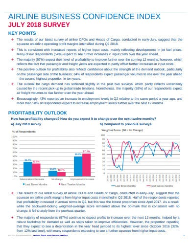 business confidence survey template