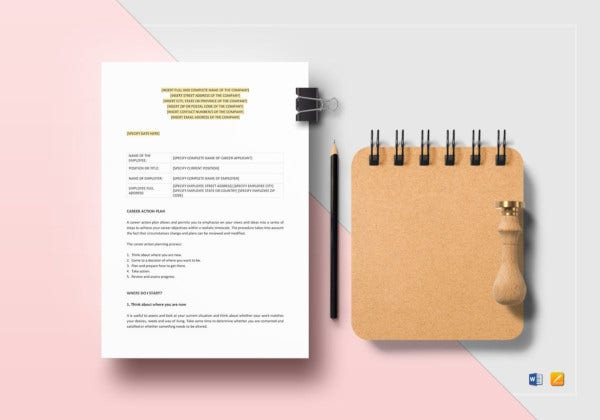 career-action-plan-template