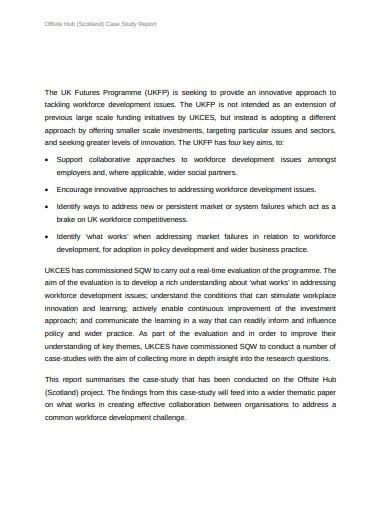 7+ Case Study Report Templates - Google Docs, PDF, DOC
