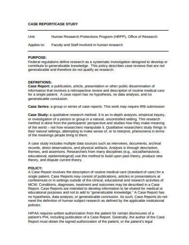 case study report template in pdf1