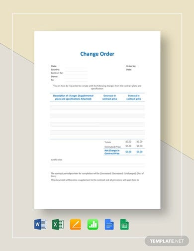 change order template4