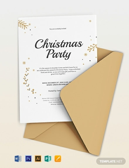 christmas invitation template 440x570 1