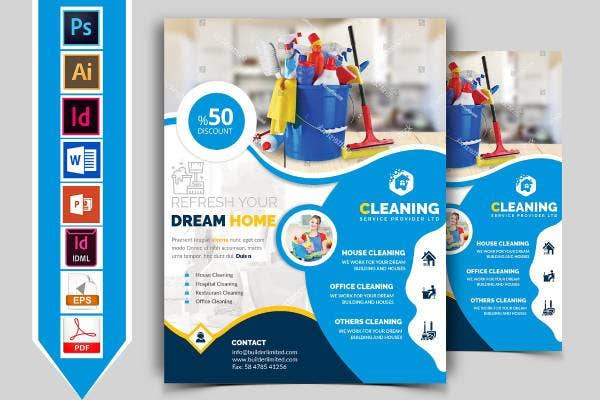 cleaning service flyer 1