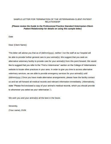 client termination letter format