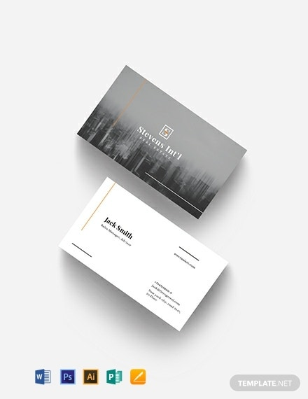 commercial real estate business card template 440x570 1