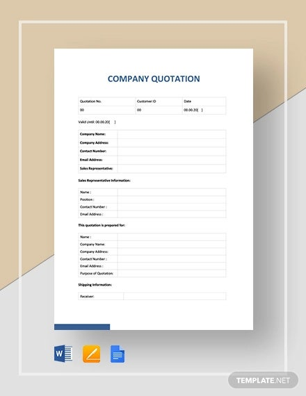 company quotation template1