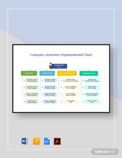 company-structure-organizational-chart-template