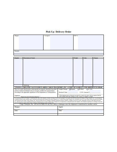 delivery order template2