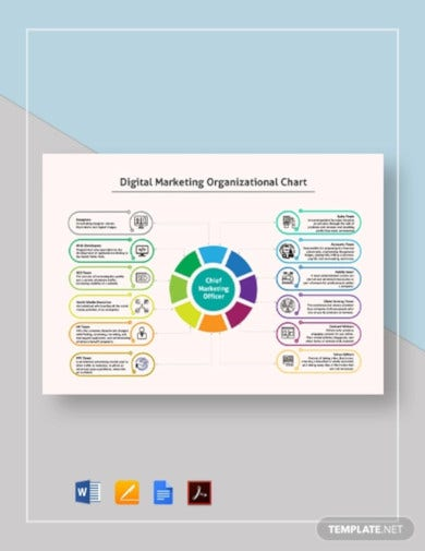 digital-marketing-organizational-chart-template