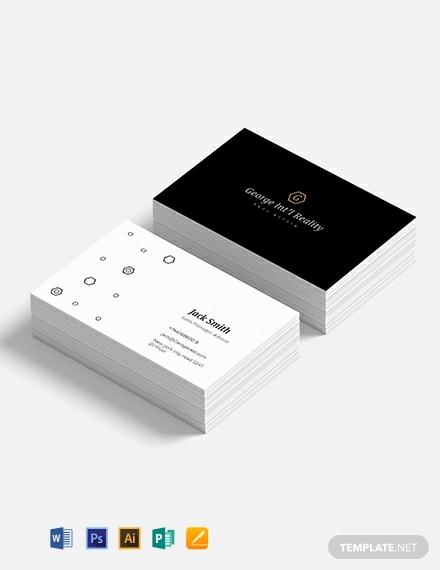 elegant real estate business card template 440x570 1